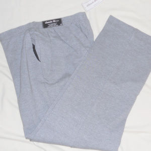 Alfred Dunner Pants 16 Gray Classic Fit Easy Wear